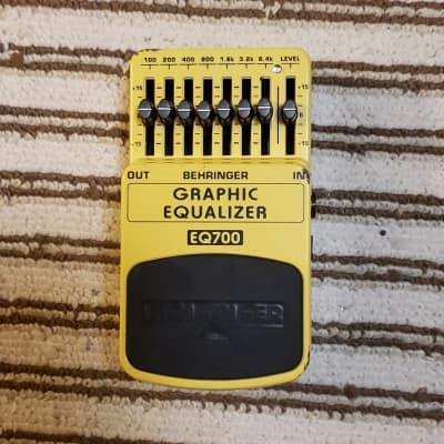 Behringer EQ700 7-Band Graphic Equalizer for sale
