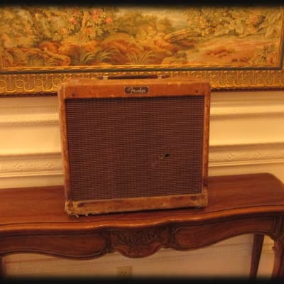 Vintage Original 1959 Fender Tweed Princeton Amplifier for sale
