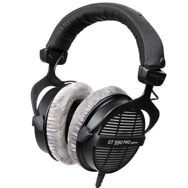 beyerdynamic dt 990 pro 250 ohm open back over ear monitoring reverb. Black Bedroom Furniture Sets. Home Design Ideas