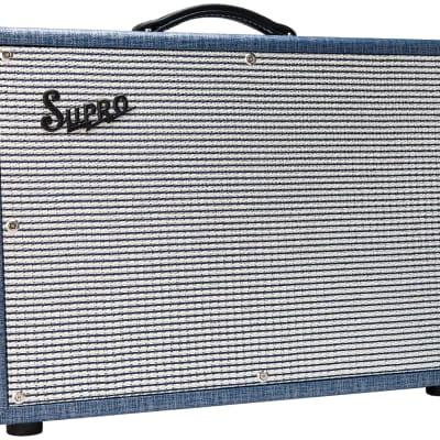 Supro Dual Tone 1624T-U 2018 Blue Tolex