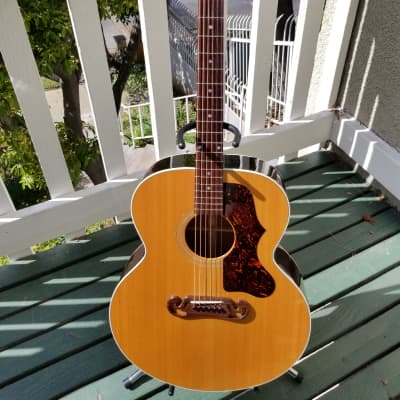 Gibson J-100 Xtra 1993 Antique Natural for sale