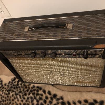 National Westwood Valco 1960s Combo Tube Twin Speaker Vintage Amp Amplifier for sale
