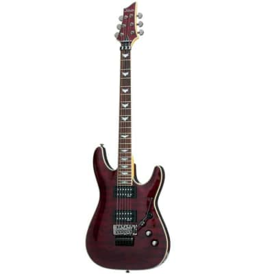 Schecter Omen Extreme-6 FR 2006 Black Cherry (BCH) Floyd Rose Electric Guitar for sale