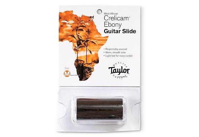 Taylor Guitar Slide, Ebony, Medium, 3/4