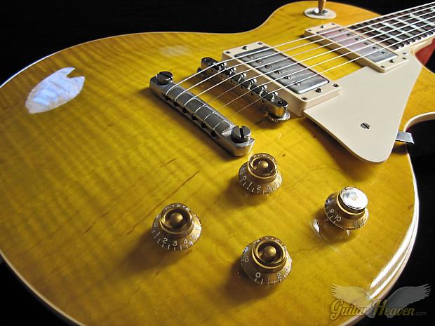begrenzter Preis neue angebote elegant im Stil Gibson Custom Shop 1959 Les Paul Reissue R9 VOS Dirty Lemon Burst -  Featuring Doyle Coils TRU-CLONES