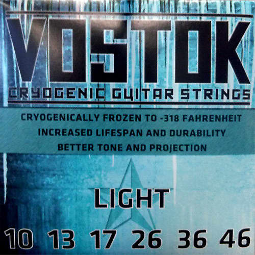 vostok cryogenic electric guitar strings made in usa reverb. Black Bedroom Furniture Sets. Home Design Ideas