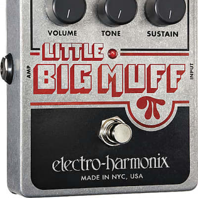 EHX Electro-Harmonix Little Big Muff Pi Distortion/Sustainer Guitar Effects Pedal