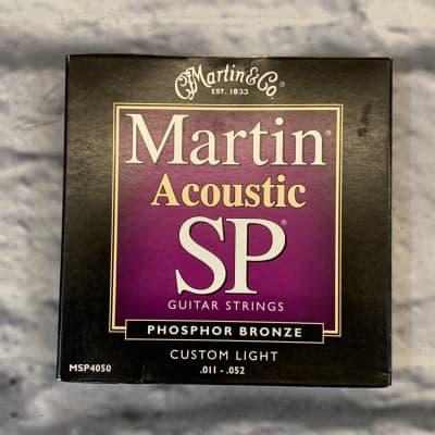 Martin SP Acoustic Phosphor Bronze Custom Light 11-52 Acoustic Guitar Strings