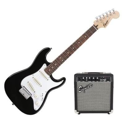 Squier Short Scale Strat Pack with Frontman 10G Combo