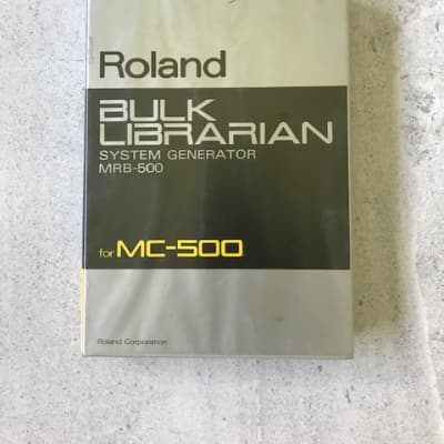 Roland  MRB-500 BULK LIBRARIAN System Generator