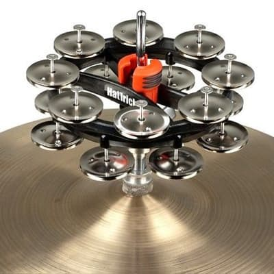 Rhythm Tech Double Hat Trick G2 Hi Hat Tambourine Brass