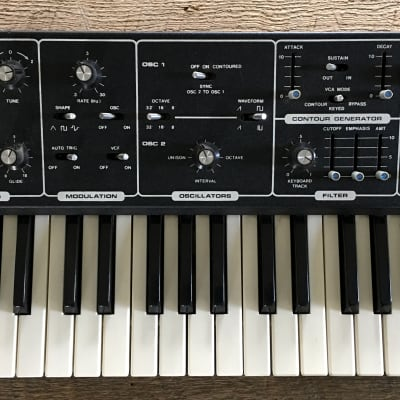Moog The Rogue Late 70's Black