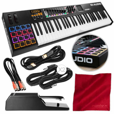 M-Audio Code 61 Keyboard and Image Line FL Studio 20 Producer | Reverb