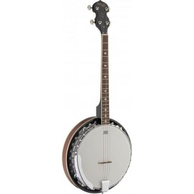 Stagg BJM30 4DL 4-String Bluegrass Banjo Deluxe for sale
