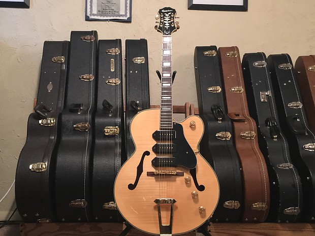 Swell Epiphone Zephyr Blues Deluxe Mid 2000S Blonde Fully Reverb Wiring Cloud Hisonuggs Outletorg