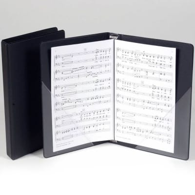 Marlo Octavo Choral Folder with Flat Pockets & Strings