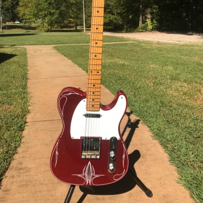Crook Telecaster 2004 Candy Apple Red Sparkle for sale