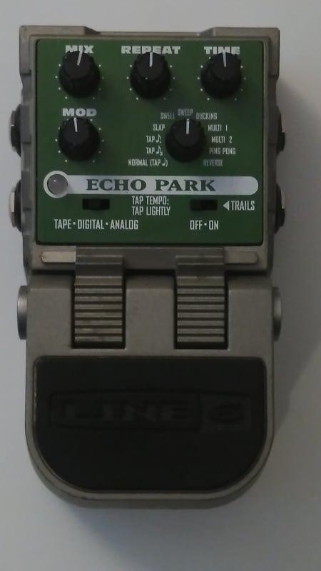 line 6 tonecore echo park delay pedal eric 39 s gear reverb. Black Bedroom Furniture Sets. Home Design Ideas