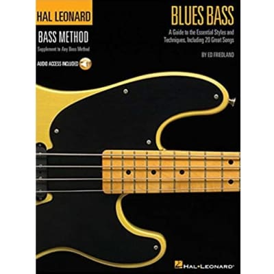 Hal Leonard Blues Bass Method (w/ Audio Access)