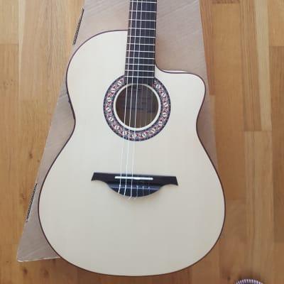 Manuel Rodriguez MR C11 Cutaway Electronic Neck Arce Classical Guitar for sale
