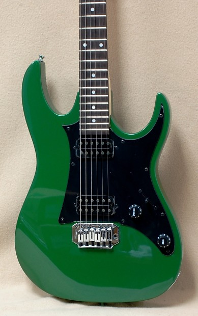 Ibanez Grx20z Grm Gio Rx Series Hh Electric Guitar Green Reverb