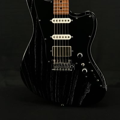 Tom Anderson Raven Classic in Black with White Dog Hair for sale