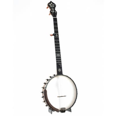 OME North Star Openback Banjo & Case, Curly Maple for sale