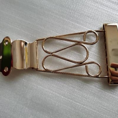 Jazz Guitar Hollow Body Tailpiece in Gold For Ibanez/Collings/Washburn/Godin/D'Angelico/Cort
