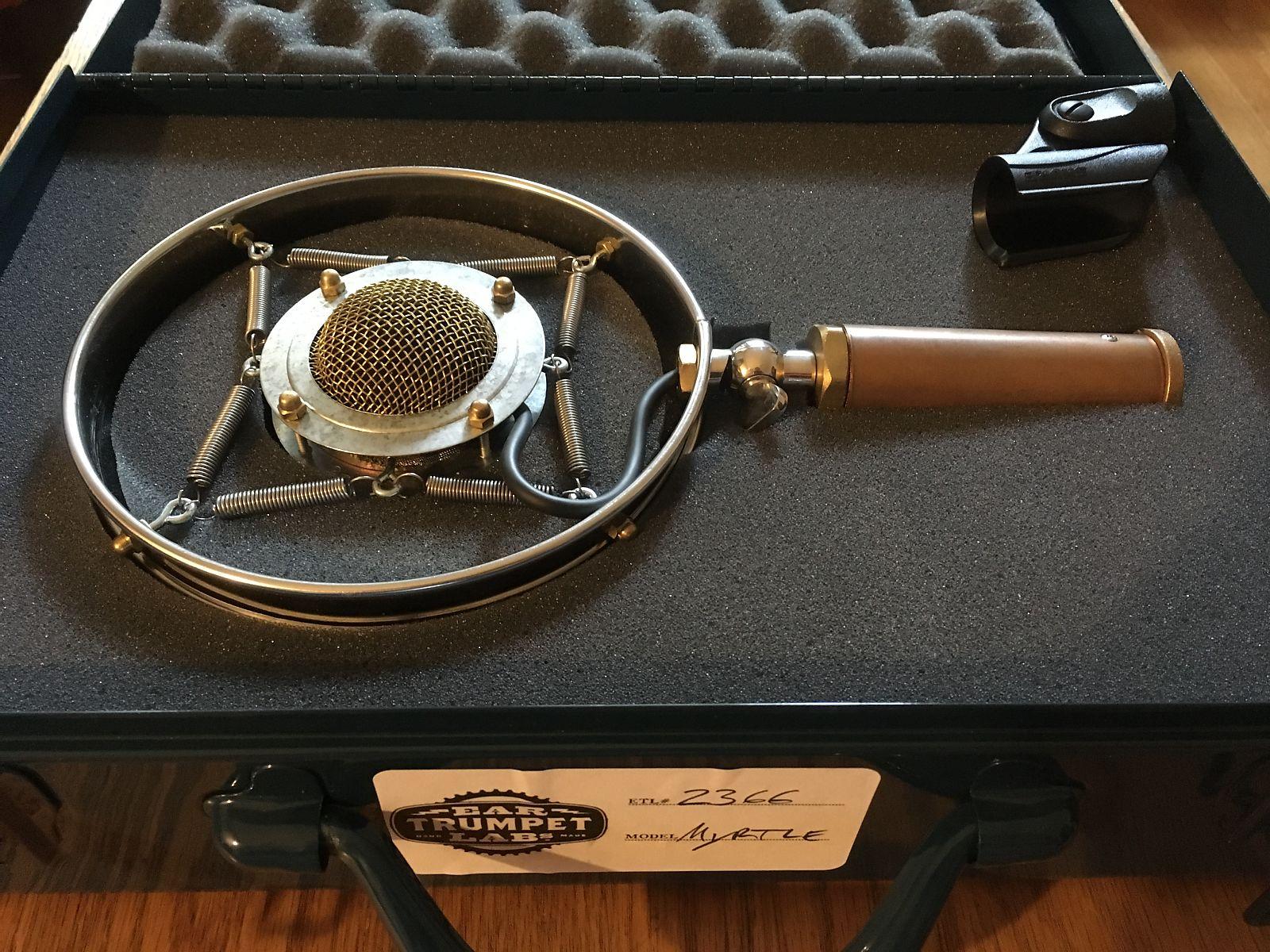 Ear Trumpet Labs Myrtle Large Diaphragm Cardioid Condenser Microphone |  Reverb