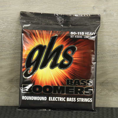 GHS H3045 SETS - 4-STRING BASS BOOMERS® - Heavy (50-115) Gauge Long Scale