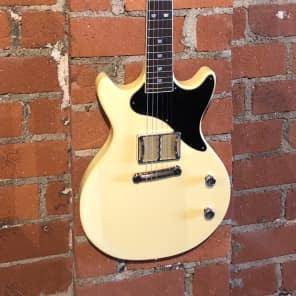 Ronin  Mule  Cream / T.V. Yellow  Guitar - Think Les Paul Junior for sale