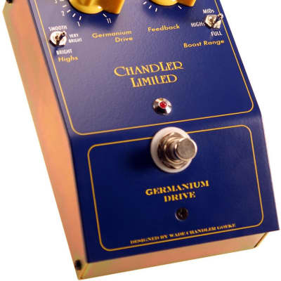 Chandler Limited Germanium Drive Guitar Pedal | New w/Warranty, Free Shipping from Atlas Pro Audio!
