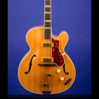 Epiphone Zephyr De Luxe Regent 1951 Natural for sale