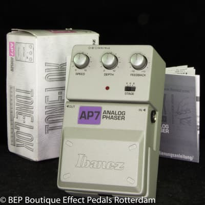 NOS Ibanez AP7 Analog Phaser s/n 08400603