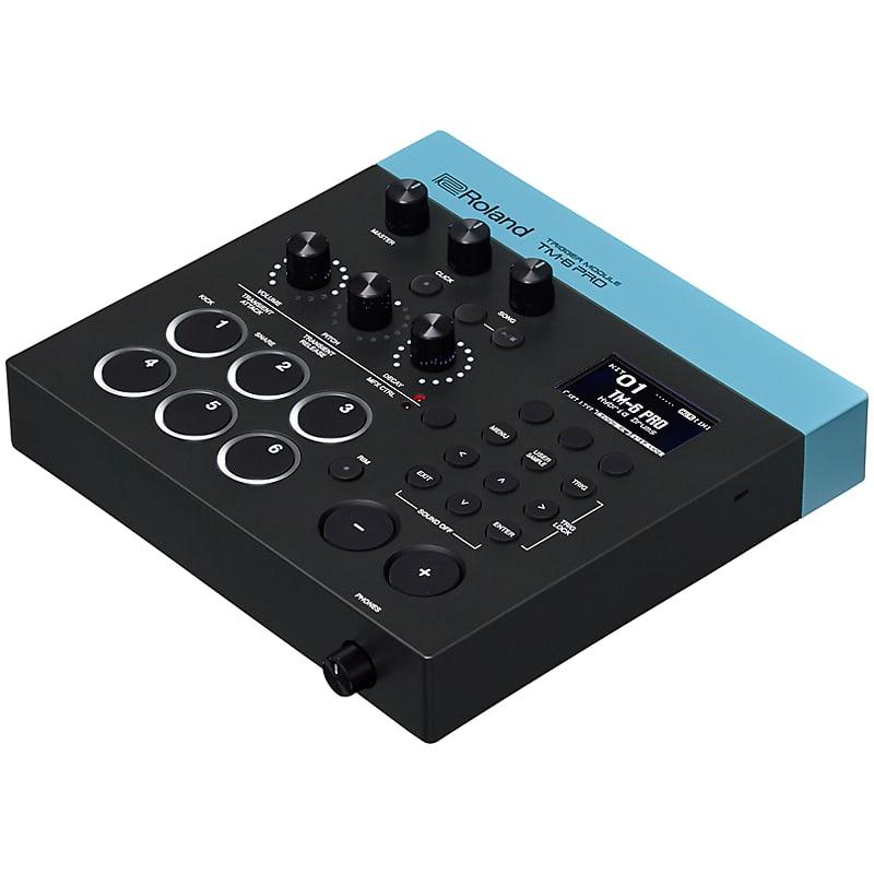 roland tm 6 pro drum trigger module 2x rt 10t acoustic drum reverb. Black Bedroom Furniture Sets. Home Design Ideas