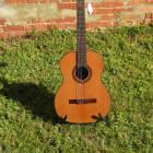 LAG Occitania OC300 OC 300 Classical Acoustic Guitar Solid Cedar Top #6972 image