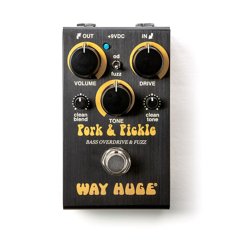 Way Huge WM91 Smalls Pork & Pickle Mini Overdrive / Fuzz Effects Pedal