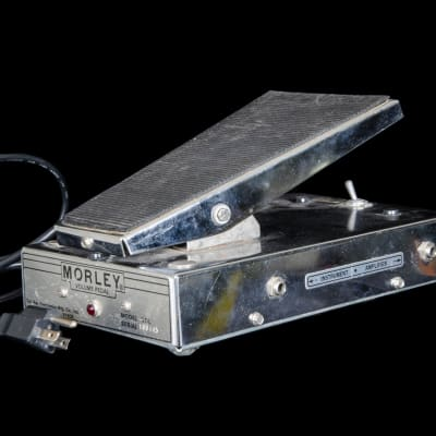 Morley VOL Volume Optical Pedal in Chrome