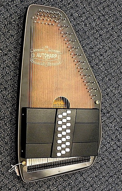 Ships Free New Oscar Schmidt OS11021AE The Americana Acoustic Electric Autoharp