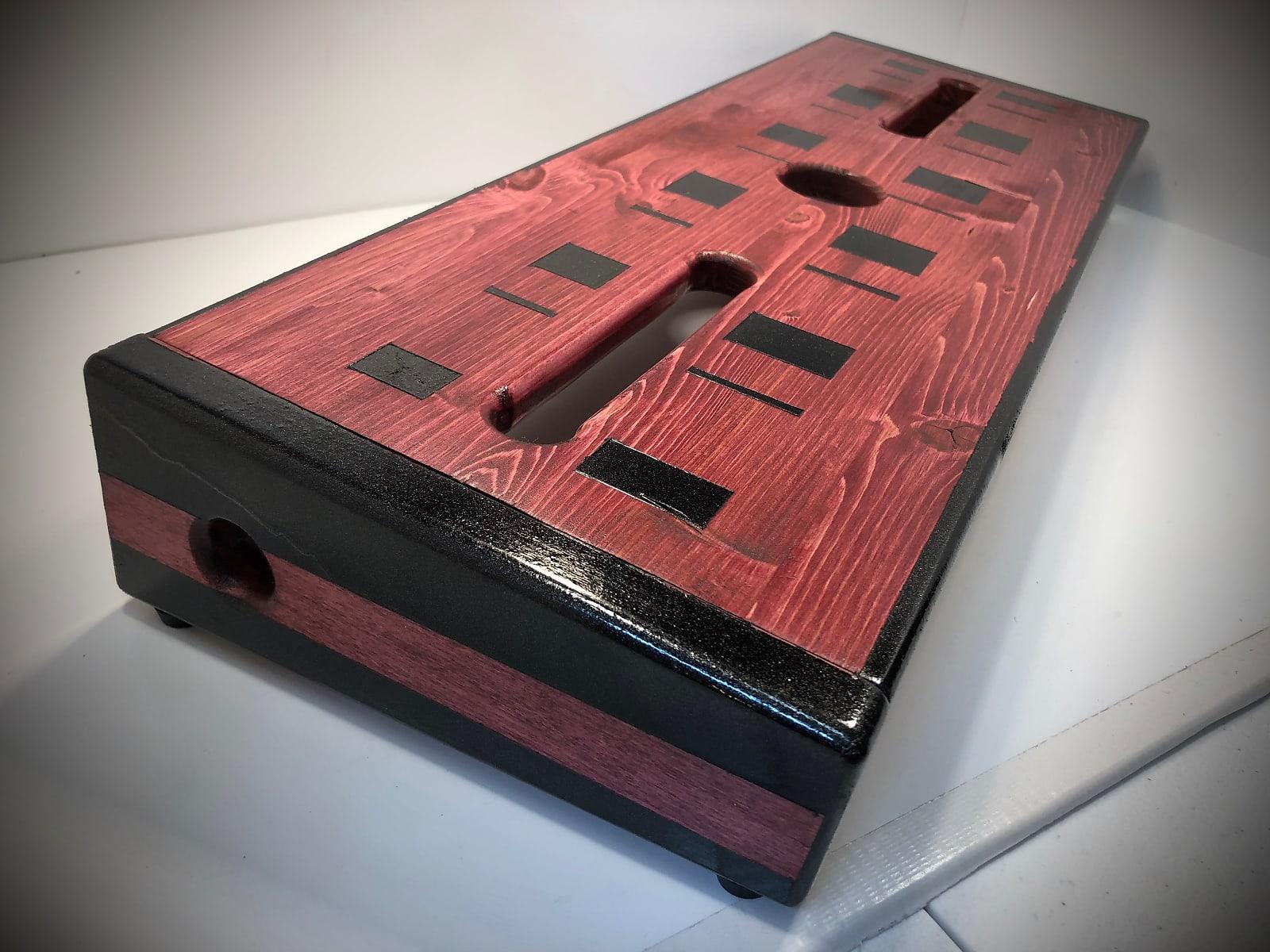 (NEW) Trinity Pedalboard - Cabernet / Black by KYHBPB