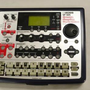 Boss SP-505 Groove Sampling Workstation Silver