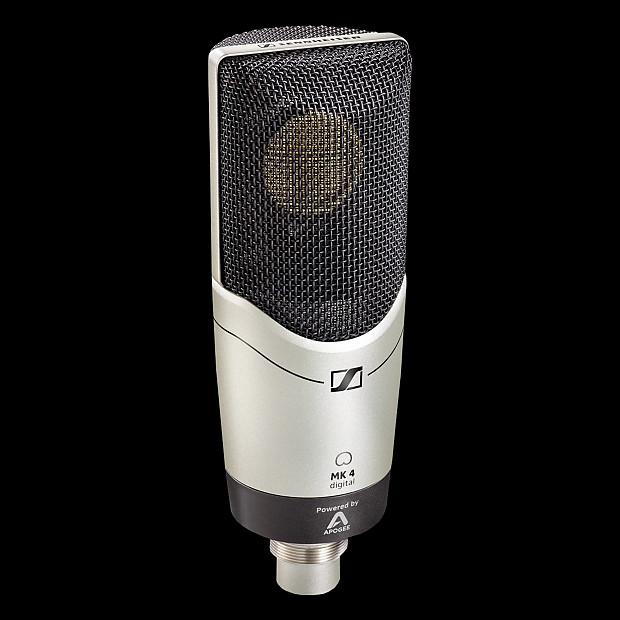 sennheiser mk4 large diaphragm condenser microphone reverb. Black Bedroom Furniture Sets. Home Design Ideas