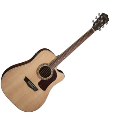 Washburn HD10SCE Heritage Series Dreadnought Cutaway Acoustic Guitar Nat Gloss - Used for sale