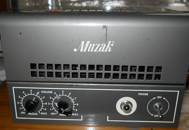 Stromberg Carlson Muzak 908A Tube amp harp/guitar