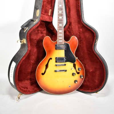 1968 Gibson ES-335TD Sunburst Finish Larry Carlton Conversion Electric Guitar