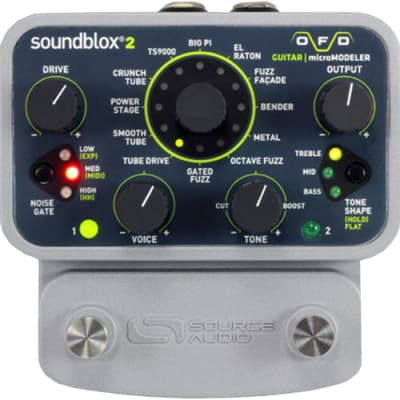 Source Audio SA228 SoundBlox2 OFD Bass microModeler Fuzz Pedal for sale