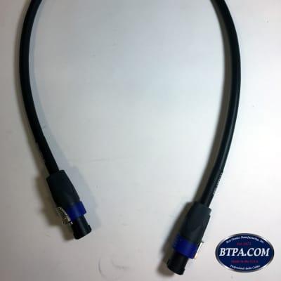 Best-Tronics Pro Audio 12AWG SpeakON Speaker Cable - 3ft long