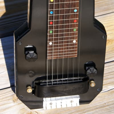 Epiphone Electar 7-string w/ Custom Aiello Potbelly Pickup – Circa '39, '07 & '17 for sale
