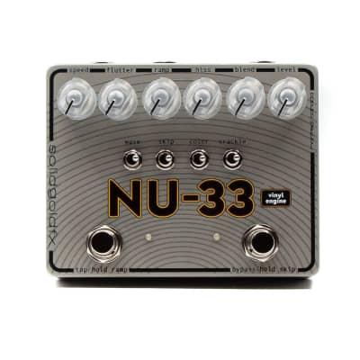 SolidGoldFX NU-33 Vinyl Engine Lo-Fi Vinyl Modulator Guitar Effects Pedal