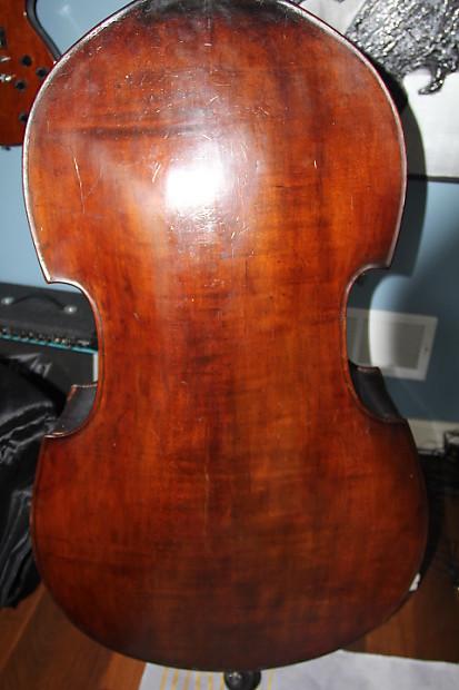 vintage german 1826 acoustic upright bass reverb. Black Bedroom Furniture Sets. Home Design Ideas